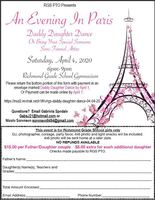 PTO Daddy Daughter Dance 4.4.2020