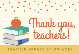 It's Teacher Appreciation Week