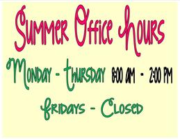 SGE Summer Hours
