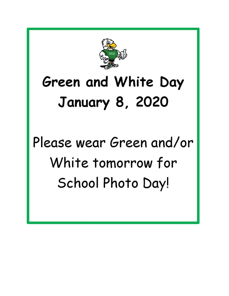 Green and White Day