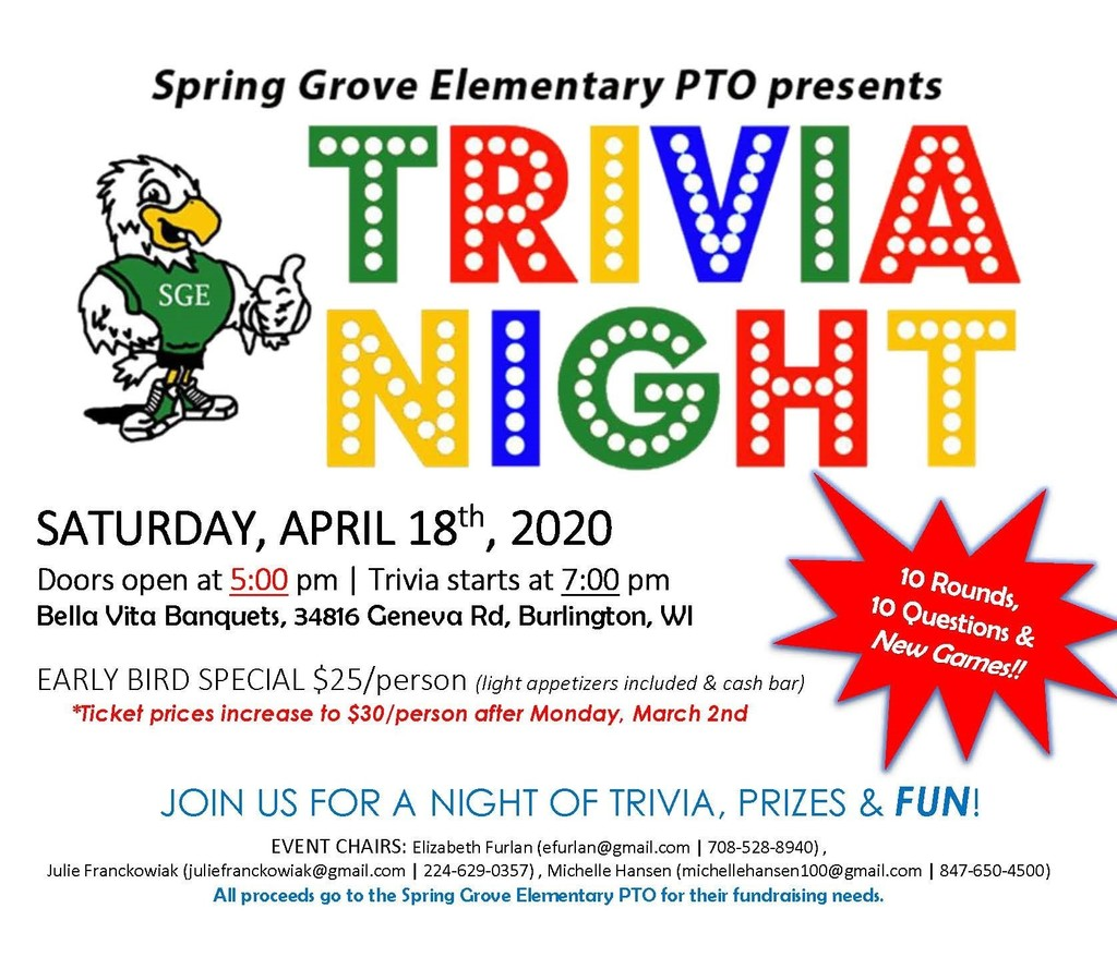 SGE Trivia Night